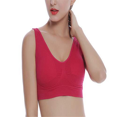 Sconto - Abbigliamento da donna, da yoga, per il tempo libero, da donna, colore viola, 6XL Rosso rosato XXXXL
