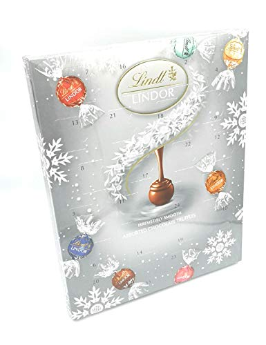 Calendario di Avvento di Tartufi di Cioccolato Lindt Lindor 300g