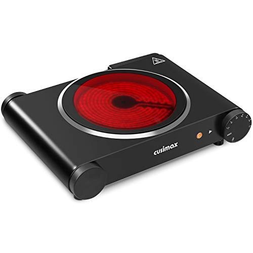 CUSIMAX Single Burner 1200W - Portable Electric...
