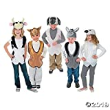 Nativity Animal Slip-On Vest And Hat Sets ( camel, lamb, dove, cow and donkey)