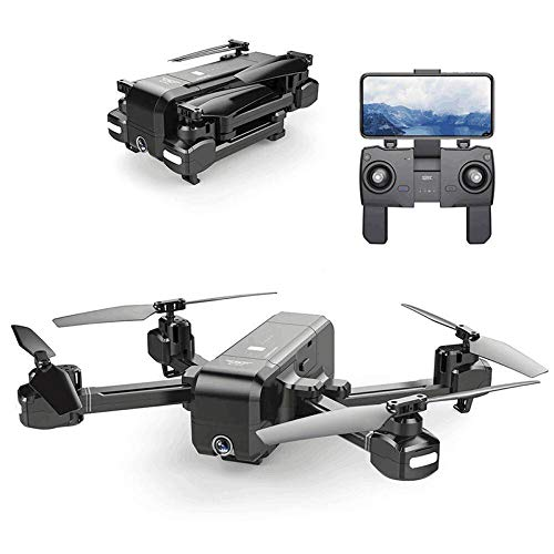 FairOnly PER Quadricottero SJ-RC Z5 5G WiFi con Fotocamera 1080P Doppio GPS dinamico Segui RC Drone Quadcopter Nero 5G 1080P (Il miglior Regalo per Le Vacanze Selezionare)