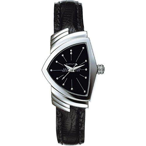 Hamilton Damen Analog Quarz Uhr mit Leder Armband H24211732