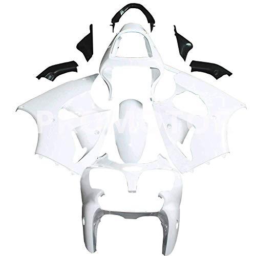 PROMOTOR Unpainted Motorcycle Fairing Kit Injection Body Kit for Kawasaki Ninja ZX 6R 636 2000 2001 2002, ZX600E ZX600J ZZR600 2005 2006 2007 2008 (11 Pcs)