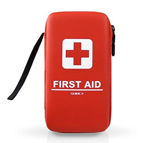 SHBC Kit Compacto Primeros Auxilios (139 Piezas) Botiquín médico de...