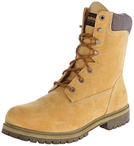 "3. Wolverine Men's Waterproof Insulated 8"" Work Boot"