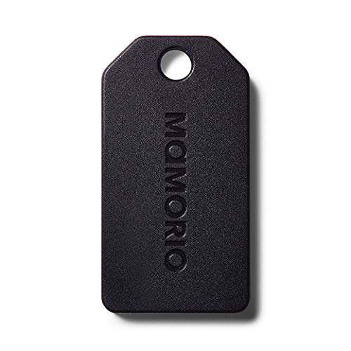 MAMORIO 世界最小クラスの紛失防止タグ 重量3g (1個, Charcoal Black)