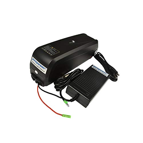 Pswpower48V13Ah Ebike Battery Made of LG LGEBM261865 + 54.6V2A Charger, Li-ion Battery for Electric Bike Scooters Bicycle Electric Tricycle, fits 500W-1000W Motor (USA Warehouse)(AD) PXL-HL-48130-LG (Misc.)