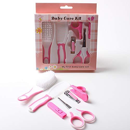 Koochie-Koo Set of 6 Cute Plastic Portable Baby Care Kit Nursery Kids Healthcare and Grooming Set...