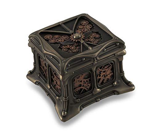 Steampunk Butterfly Bronze Finish Trinket Box Stash Box (Kitchen & Home)