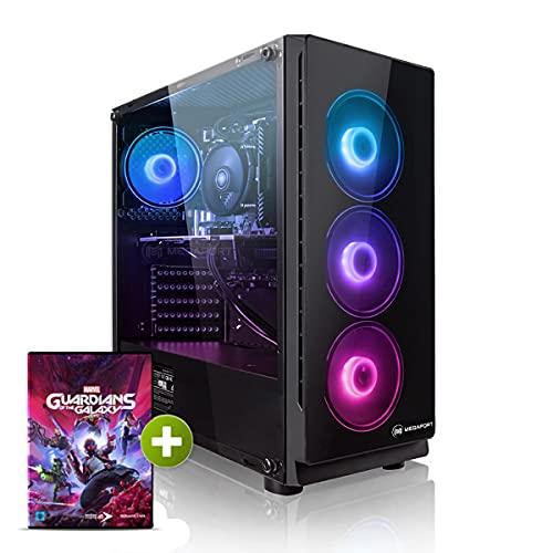 Megaport PC Gamer Falcon AMD Ryzen 7 3700X 8X 3,60 GHz • nvidia GeForce RTX3060 12Go • Windows 10 • 16Go 3000 MHz DDR4 • 1 to M.2 SSD • WiFi • USB3.0 Unité Centrale Ordinateur de Bureau