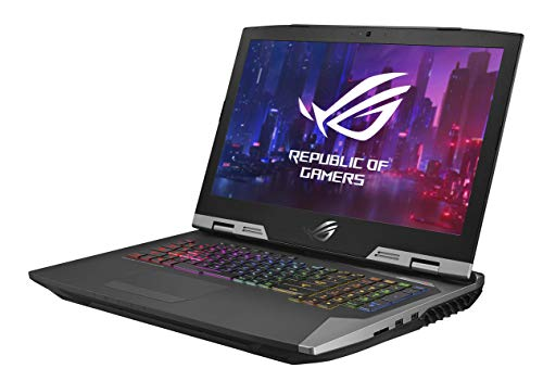 "ASUS ROG G703 17.3"" FHD 144Hz Gaming Laptop RTX 2080 8GB Graphics (Core i9-9980HK 9th Gen/32GB RAM/1TB SSHD + 3X 512GB PCIe SSD/Windows 10 Professional/Aluminum/4.70 Kg), G703GXR-EV078R 6"
