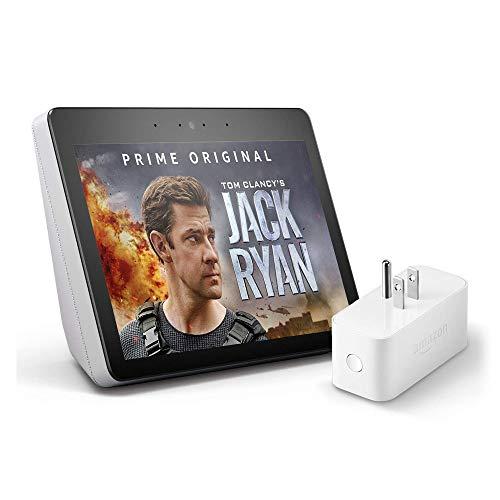 Echo Show (2nd Gen) with Amazon Smart Plug - Sandstone