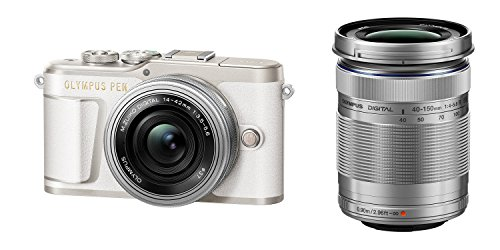 OLYMPUS ミラーレス一眼カメラ PEN E-PL9 ダブルズームキット ホワイト