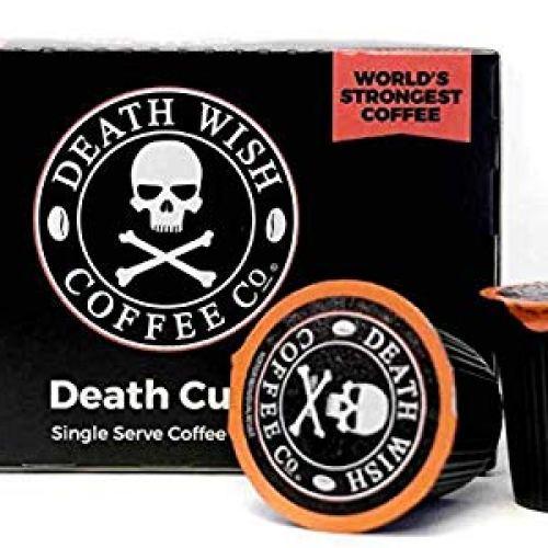 Death Wish Coffee Single Serve Capsules for Keurig