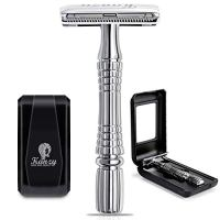 Kanzy Shaving Razors for Men Double Edge Safety Razor Stainless Steel