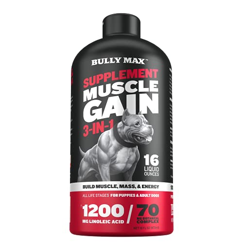 Bully Max 3-IN-1 Liquid Muscle Building Supplement...
