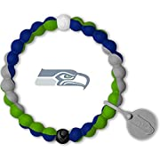NFL SEATTLE SEAHAWKS BRACELET: This NFL Bracelet proudly displays the Seattle Seahawks team colors, and is an excellent way to show your spirit for game day and give back to a great cause SIZE: Beaded silicone bracelet features a 6.5 inch circumferen...