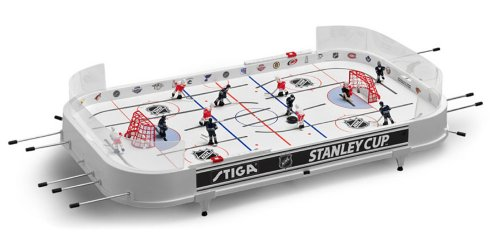 Stiga Sports NHL Stanley Cup Rod Hockey Table Game - Chicago Blackhawks & Detroit Red Wings