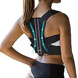 VANRORA Posture Corrector for Women and Men, Fully Adjustable & Comfy Upper Back Brace, Support...