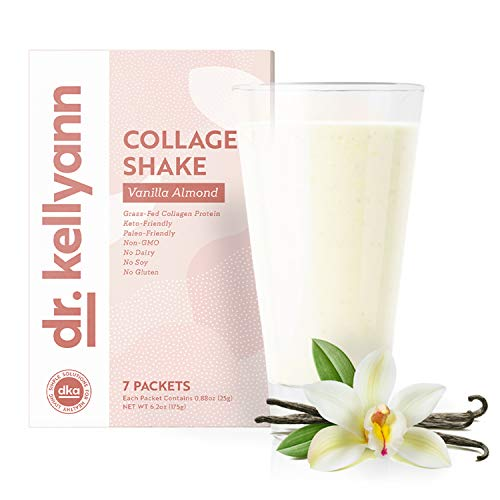 Keto Vanilla Almond Shakes - 100% Grass Fed Collagen Protein by Bone Broth Expert Dr. Kellyann - Gluten Free, Dairy Free, Soy Free, Non-GMO - Perfect for Keto, Paleo & Weight Loss Diets (7 Servings) 6