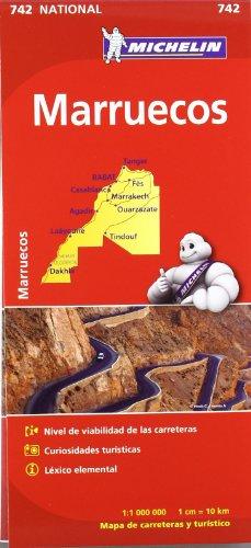Mapa National Marruecos (Mapas National Michelin)