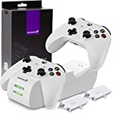 Fosmon Dual Controller Charger Compatible with Xbox One/One X/One S...