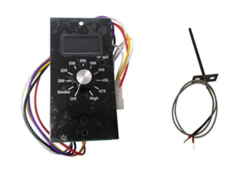 Thermostat Kit Digital Wood Pellet Smoker Grill Control Board for Pit Boss