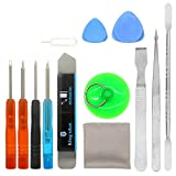 14 in 1 repair replacement cleaning tool kit for phone iPhone x/4/4s/5/5s/6/6s/Plus/7/Plus/8/Plus