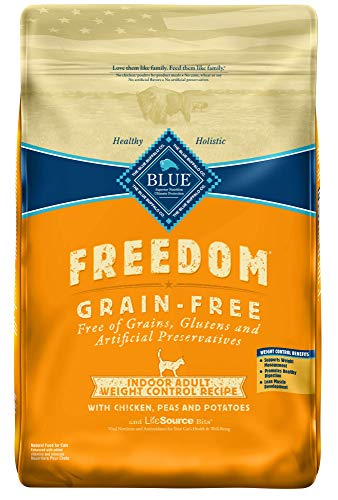 Blue-Buffalo-Freedom-Grain-Free-Natural-Indoor-Weight-Control-Adult-Dry-Cat-Food-Chicken-11-lb