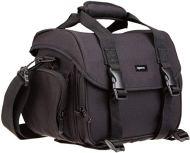 AmazonBasics - Bolsa para cámaras DSLR, Color Negro