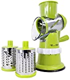 Smart Drum Shopper – Trancheuse Slicer Turbo à légumes Manuelle avec 3 Lames...