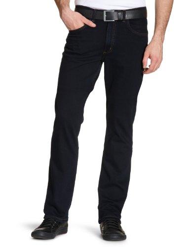 Lee Herren Brooklyn Straight Jeans , Blau (Blue Black) , W34/L32