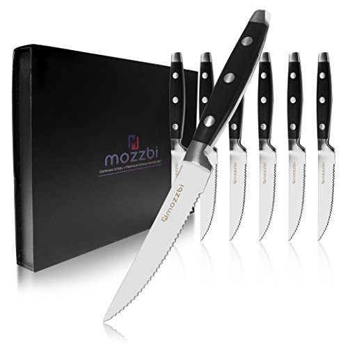 Premium Serrated Steak Knives