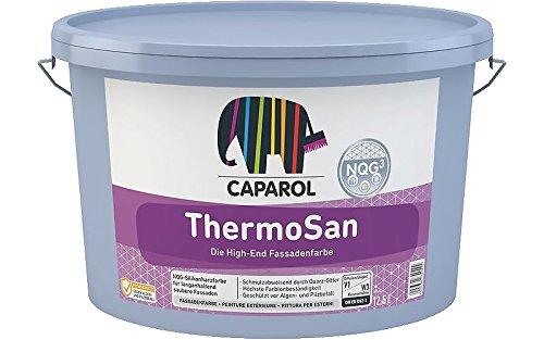 Fassadenfarbe Caparol ThermoSan regen schmutzabweisend 12,5 L wei