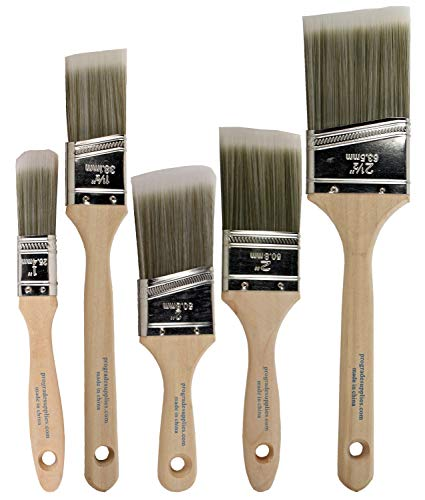 Pro Grade - Boya Fırçaları - 5 Ea - Boya Fırça Seti