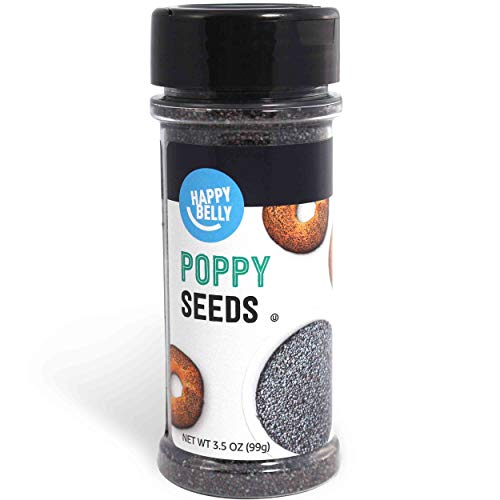 Amazon Brand - Happy Belly Poppy Seeds, 3.5 Ounces