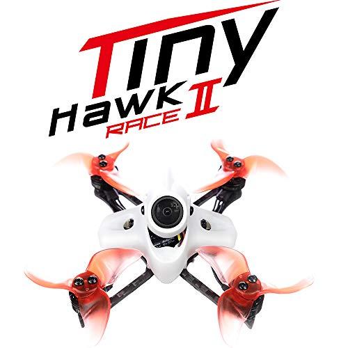 Benkeg Drone Tinyhawk II Race Drone RC Tinyhawk II Race Brushless 90mm FPV Racing Drone con videocamera 700TVL RunCam Nano2 velocit Massima 120KM / H F4 37CH 25/100 / 200mW VTX con 2 batterie