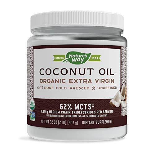 Nature's Way Organic Extra Virgin Coconut Oil,...