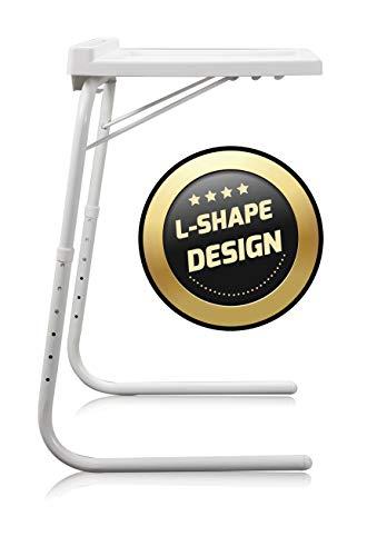 BEST DIRECT Starlyf Table Express Original Visto in TV Tavolino Ausiliario Portatile Multiuso Casa Sei Livelli Altezza Tre Angolazioni