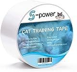 S-Power Anti-Rayures Cat Bande de Formation, Facile Clair Ruban adhésif...