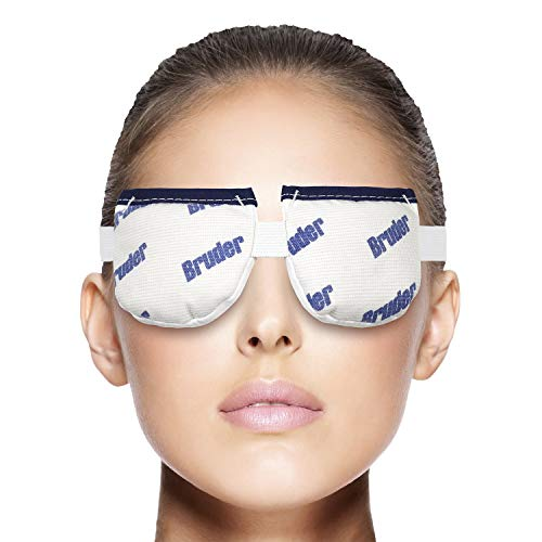 Bruder Moist Heat Eye Compress | Microwave Activated. Relieves Dry Eye, Styes, Meibomian Gland Dysfunction