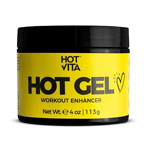 Hot Vita Hot Gel – Sweat Cream Workout Enhancer Belly Slimming Gel (4 oz) 1