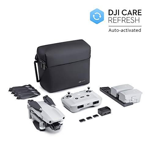 DJI Mavic Air 2 Fly More Combo + Care Bundle - Drone, Videocamera 48MP 4K, Stabilizzatore a 3 Assi, 34 min di Volo, DJI Care Servizio di Sostituzione Attivato Automaticamente in Esclusiva per Amazon