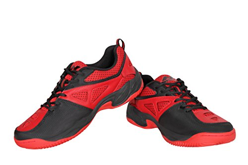 Nivia Men's Red Mesh Energy Tennis Shoes -6