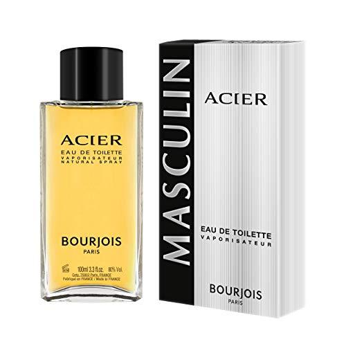 Bourjois - Eau de Toilette Homme Acier - 100ml