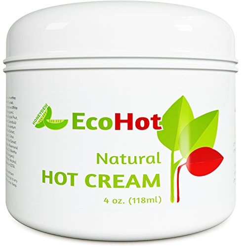 Natural Skin Tightening Cream - Anti Aging Body Treatment for Women + Men - Anti Cellulite Stretchmark + Scar Remover - Muscle Pain Relief - Antioxidant Hot Cream Gel Moisturizer For Dry + Saggy Skin 2