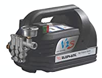 Elephant Portable High Pressure Washer Water Pump 220-240V household cleaning washing machine water gun self-priming pump (V2S). Vol. Freq: 220V-240V. Input Power : 1800W. Length of Cable 3 Mtr. Max Pressure: 90 Bar, 1300 psi ------------------ Water...