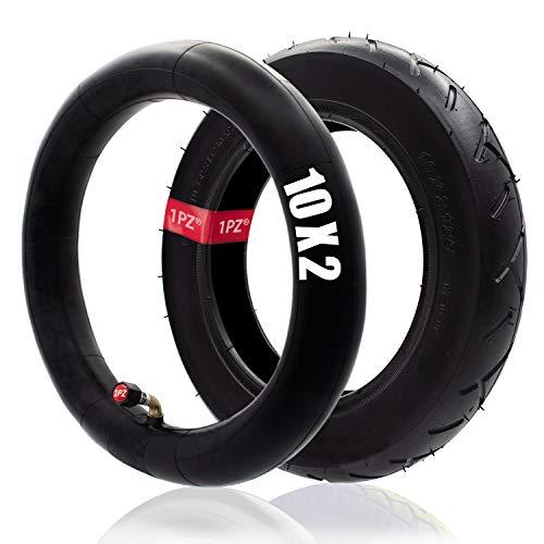 1PZ ITX-RFS 10' Inch Bent Valve Stem Inner Tubes + Tire 10x2 / 10x2.125