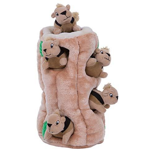 Outward Hound Hide A Squirrel Plush Dog Toy...
