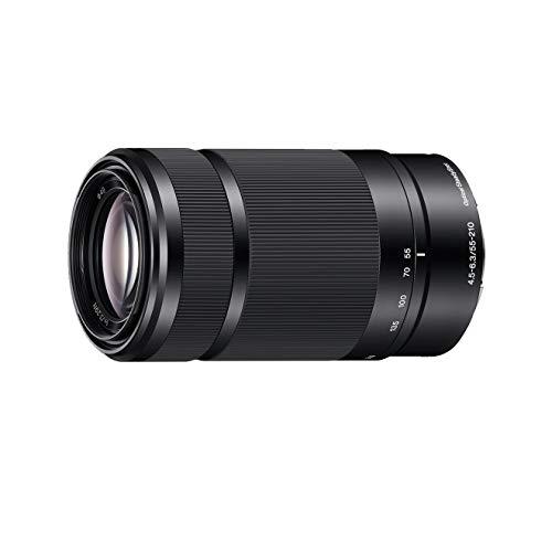 Sony SEL-55210B - Obiettivo con Zoom 55-210mm F4.5-6.3, Stabilizzatore ottico, Mirrorless APS-C, Attacco E, SEL55210B, Nero